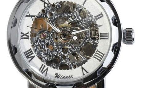 Automatické hodinky v zajímavém designu - 11 barev