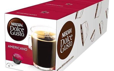 Kapsle pro espressa Nescafé Dolce Gusto Americano 3 balení