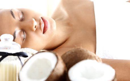 Hodinové masáže: kokosová, s aloe vera a další