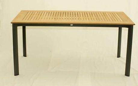 Zahradní stůl Lugano, obdelníkový 160x90x74 cm