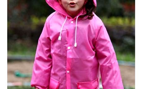Barevná dětská pláštěnka