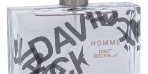 David Beckham Homme 75 ml toaletní voda pro muže