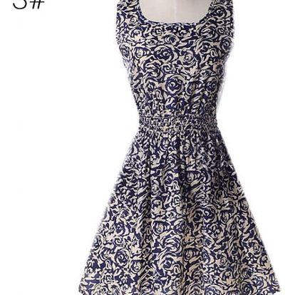 Rozmanité letní šaty - vzor 20, vel. 1 - dodání do 2 dnů
