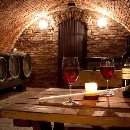 Podzimní neomezená konzumace vín v hotelu Weiss Lechovice