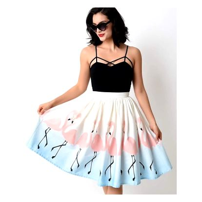 Dámská midi sukně s nádhernými vzory - 4 varianty
