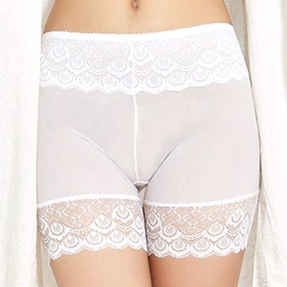 Prodyšné prádlo ochraňující před odřením stehen - bílé