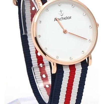 Módní dámské hodinky s pruhovaným páskem - 19 variant