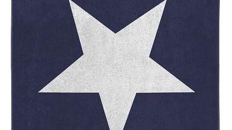 Modrá osuška Seahorse Star,100x180cm