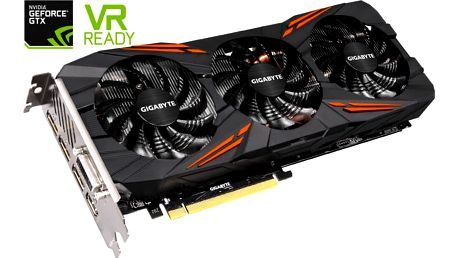 GIGABYTE GeForce GTX 1070 G1 Gaming, 8GB GDDR5 - GV-N1070G1 GAMING-8GD
