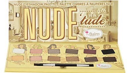 TheBalm Nude Tude Eyeshadow Palette 11,08 g oční stín W