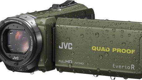 JVC GZ R435G, zelená - 4975769447198