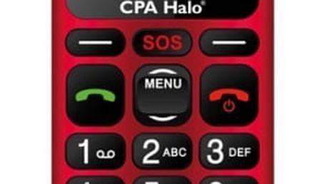 Mobilní telefon CPA Halo 16 (TELMY1016RE) červený