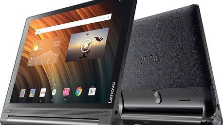 """Lenovo Yoga Tablet 3 Plus 10.1"""" - 32GB, LTE, černá - ZA1R0008CZ + Zdarma GSM T-Mobile SIM s kreditem 200Kč Twist (v ceně 200,-)"""
