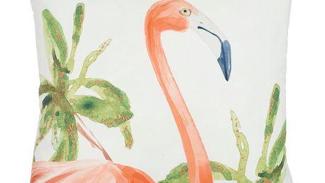 Povlak na polštář Apolena Hello Flamingo, 43 x 43 cm