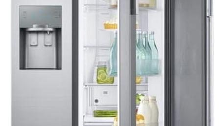 Kombinace chladničky s mrazničkou Samsung RH56J69187F/EF nerez/ocel