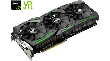 ASUS GeForce ROG STRIX GAMING GTX1070 DirectCU III, 8GB GDDR5 - 90YV09N2-M0NA00