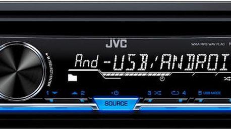 JVC KD R472 - 4975769434419 + USB flash JVC 8GB v ceně 199 Kč