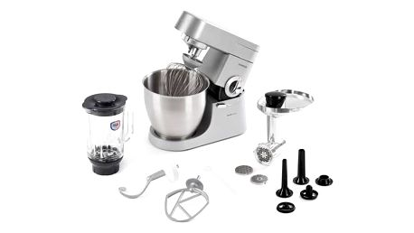 Kuchyňský robot Kenwood Major KMM770 stříbrný Stolní mixér Kenwood SB055WG Blend-Xtract (zdarma) + Doprava zdarma