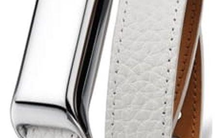 TCL MOVEBAND 2 Fashion náramek Metal Chrome/White