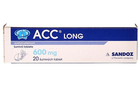 ACC LONG Šumivé tablety 20x600 mg