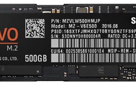 Samsung SSD 960 EVO (M.2) - 500GB - MZ-V6E500BW