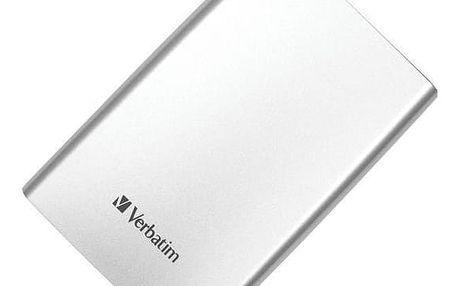 Verbatim Store 'n' Go, USB 3.0 - 500GB, stříbrný - 53021