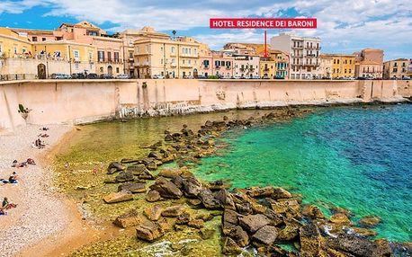 Itálie, Sicílie, letecky na 8 dní se snídaní