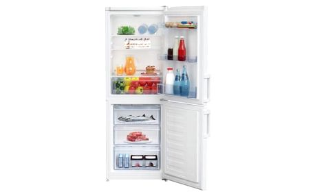Kombinace chladničky s mrazničkou Beko CSA 240 M21W bílá
