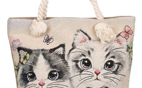 Fashion Icon Dámská taška Girls kočky roztomilé