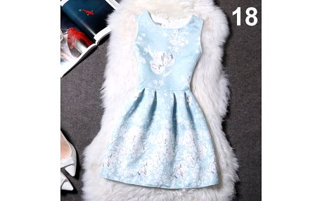 Elegantní šaty s originálními motivy - varianta 18, velikost 1