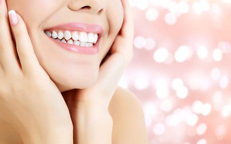 40min. bezbolestné neperoxidové bělení zubů