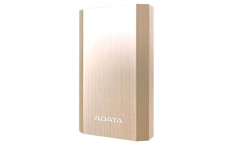 Power Bank ADATA A10050 10050mAh (AA10050-5V-CGD) zlatá + Doprava zdarma