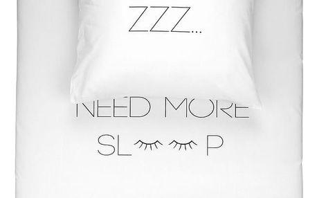 Povlečení Walra Need More Sleep, 155x220cm - doprava zdarma!