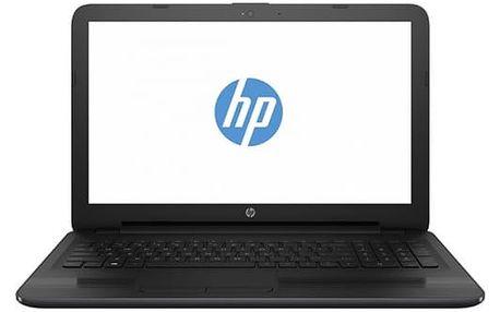 """Notebook HP 255 G5 (W4M80EA#BCM) černý AMD E2 -7110, 4GB, 500GB, 15.6"""", HD, DVD±R/RW, AMD Radeon R2, BT, CAM, bez OS"""