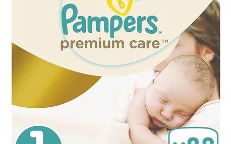 Pampers Premium Care Newborn vel. 1, 88 ks