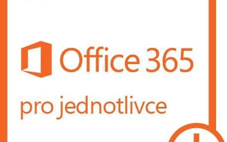 Microsoft Office 365 pro jednotlivce - elektronicky - QQ2-00012