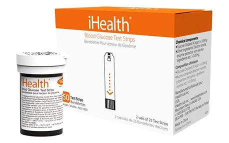iHealth EGS-2003 testovací proužky pro glukometry iHealth - IH-EGS-2003