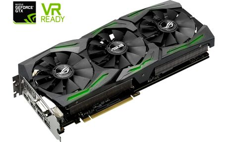 ASUS GeForce ROG STRIX GAMING GTX1070 DirectCU III, 8GB GDDR5 - 90YV09N2-M0NA00 + Kupon na hru Assassin's Creed© Origins v ceně 1499,- Kč, platnost 6.10.2017 - 31.12.2017 (Asus)