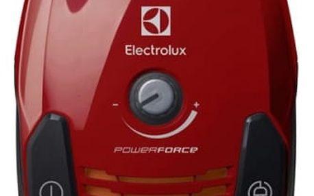 Vysavač podlahový Electrolux PowerForce ZPFCLASSIC červený