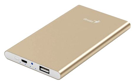 Genius powerbank ECO-u540, zlatá - 39800016102
