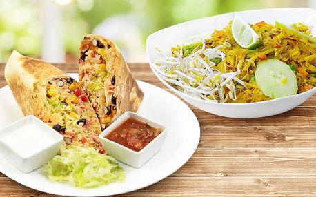 Asijské či mexické menu dle výběru pro 1 či 2