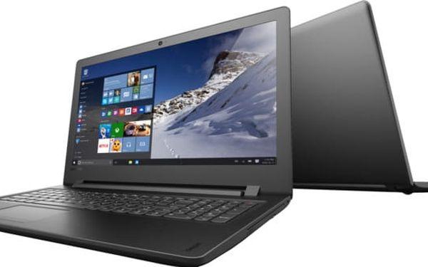 Lenovo IdeaPad 110-15ISK, černá - 80UD00SXCK