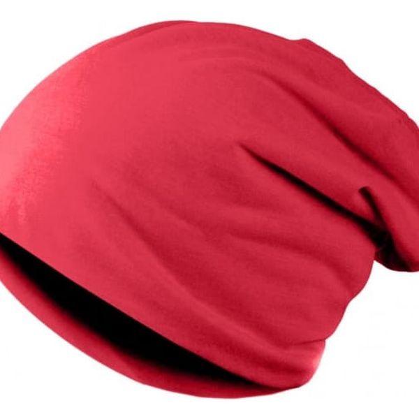Unisex kulich ve veselé barvě - červená - dodání do 2 dnů