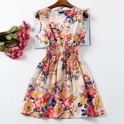 Rozmanité letní šaty - vzor 1, vel. 3 - dodání do 2 dnů