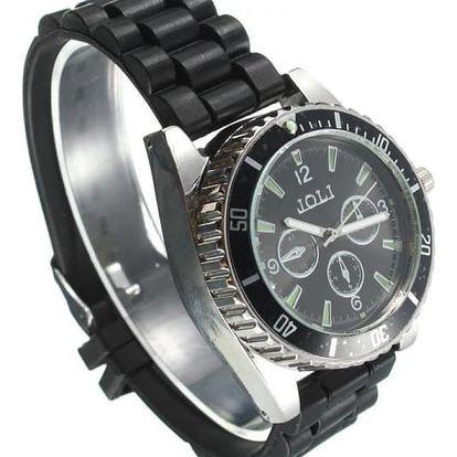 Náramkové hodinky s drtičkou na tabák