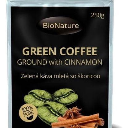 BIONATURE Zelená káva se skořicí 250 g