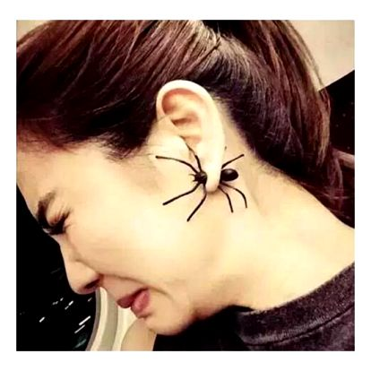 Náušnice Spider