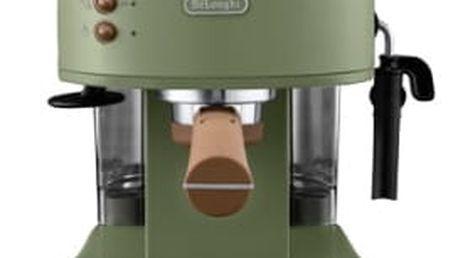 Espresso DeLonghi Icona Vintage ECOV 311.GR zelené