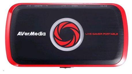 AVerMedia Live Gamer Portable USB, nahrávací zařízení - 4710710676698