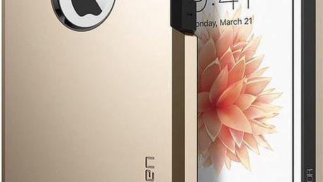 Spigen Tough Armor kryt pro iPhone SE/5s/5, zlatá - 041CS20252